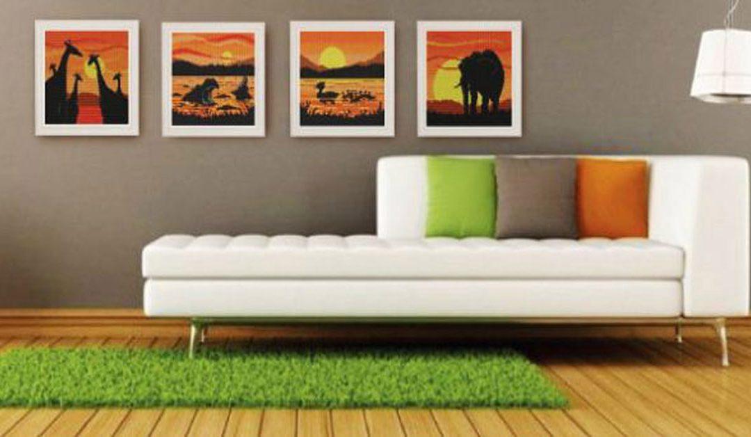 เสริมดวงง่ายๆ ด้วยภาพติดผนังบ้าน